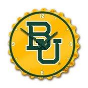 Baylor University Bears Team Spirit Bottle Cap Wall Clock