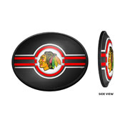 Chicago Blackhawks: Oval Slimline Illuminated Wall Sign