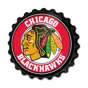 Chicago Blackhawks: Bottle Cap Wall Sign