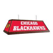 Chicago Blackhawks: Premium Wood Pool Table Light