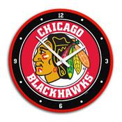 Chicago Blackhawks: Modern Disc Wall Clock