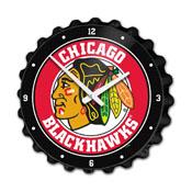 Chicago Blackhawks: Bottle Cap Wall Clock