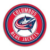Columbus Blue Jackets: Modern Disc Wall Sign