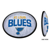 St. Louis Blues: Ice Rink - Oval Slimline Illuminated Wall Sign