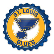 St. Louis Blues: Bottle Cap Wall Sign