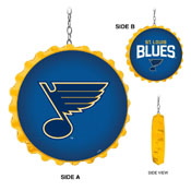 St. Louis Blues: Bottle Cap Dangler