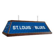 St. Louis Blues: Premium Wood Pool Table Light