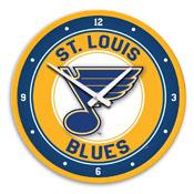 St. Louis Blues: Modern Disc Wall Clock
