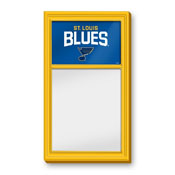 St. Louis Blues: Dry Erase Noteboard