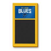St. Louis Blues: Chalk Noteboard