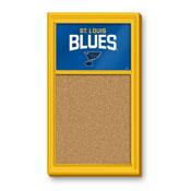 St. Louis Blues: Cork Noteboard