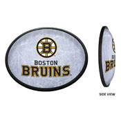Boston Bruins: Ice Rink - Oval Slimline Illuminated Wall Sign