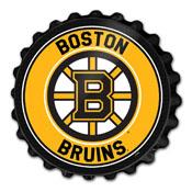 Boston Bruins: Bottle Cap Wall Sign
