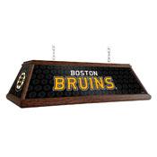 Boston Bruins: Premium Wood Pool Table Light