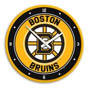 Boston Bruins: Modern Disc Wall Clock
