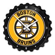 Boston Bruins: Bottle Cap Wall Clock