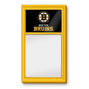 Boston Bruins: Dry Erase Noteboard