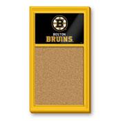 Boston Bruins: Cork Noteboard