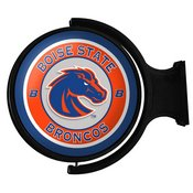 BSU - Boise State Broncos Rotating Illuminated Team Spirit Wall Sign-Round