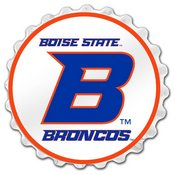 BSU - Boise State Broncos Team Spirit Bottle Cap Wall Sign