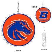 BSU - Boise State Broncos Team Spirit Bottle Cap Dangler-Primary Logo