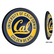 Cal Berkeley Golden Bears Slimline Illuminated Team Spirit Wall Sign-Round