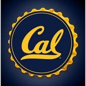 Cal Berkeley Golden Bears Team Spirit Bottle Cap Wall Sign