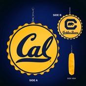 Cal Berkeley Golden Bears Team Spirit Bottle Cap Dangler