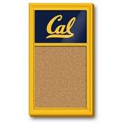Cal Berkeley Golden Bears Team Board Corkboard