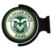 CSU - Colorado State Rams Rotating Illuminated Team Spirit Wall Sign-Round