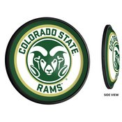 CSU - Colorado State Rams Slimline Illuminated Team Spirit Wall Sign-Round