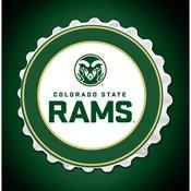 CSU - Colorado State Rams Team Spirit Bottle Cap Wall Sign