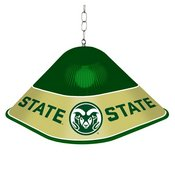 CSU - Colorado State Rams Game Table Light-Square-Green