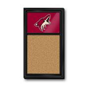 Arizona Coyotes: Cork Noteboard
