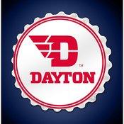 University of Dayton Flyers  Team Spirit Bottle Cap Wall Sign
