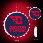 University of Dayton Flyers  Team Spirit Bottle Cap Dangler-Primary Logo