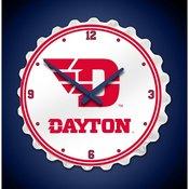 University of Dayton Flyers  Team Spirit Bottle Cap Wall Clock