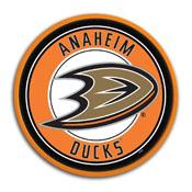 Anaheim Ducks: Modern Disc Wall Sign