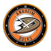 Anaheim Ducks: Modern Disc Wall Clock