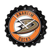Anaheim Ducks: Bottle Cap Wall Clock