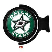 Dallas Stars: Original Round Illuminated Rotating Wall Sign