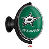 Dallas Stars: Original Oval Illuminated Rotating Wall Sign