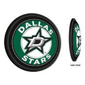 Dallas Stars: Round Slimline Illuminated Wall Sign