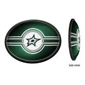Dallas Stars: Oval Slimline Illuminated Wall Sign