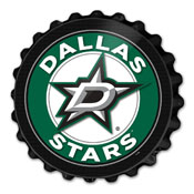 Dallas Stars: Bottle Cap Wall Sign