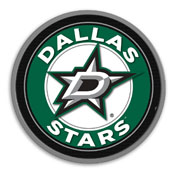 Dallas Stars: Modern Disc Wall Sign
