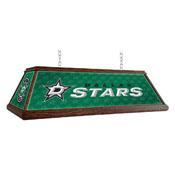 Dallas Stars: Premium Wood Pool Table Light