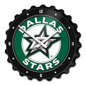 Dallas Stars: Bottle Cap Wall Clock