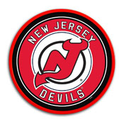 New Jersey Devils: Modern Disc Wall Sign