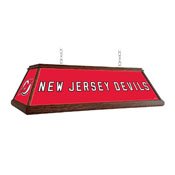 New Jersey Devils: Premium Wood Pool Table Light